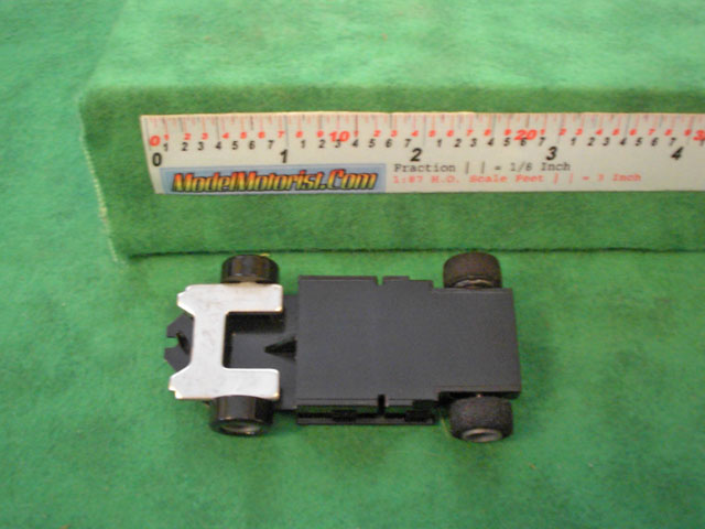Top view of Tyco US1 Electric Trucking HO Disabled Car Chassis