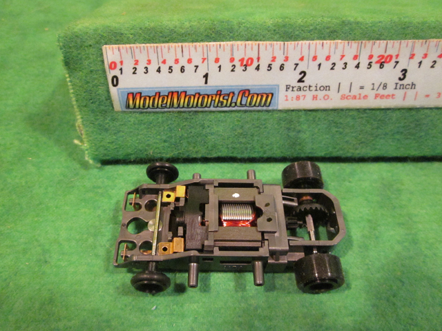 Top view of Viper V 1 HO Slot Car Chassis