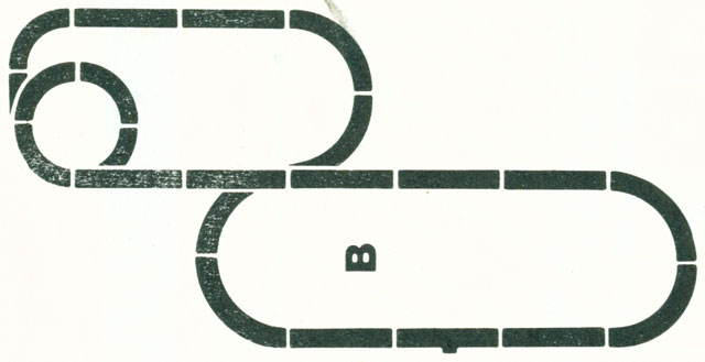 Lionel Power Passers Track HO Layout 2